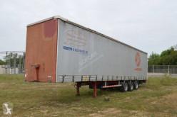 Semitrailer Trouillet skjutbara ridåer (flexibla skjutbara sidoväggar) begagnad
