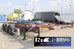 Semitrailer Zorzi ralletta portacontainer 3 assi adr containertransport begagnad