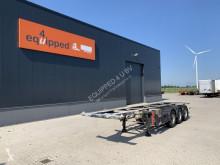 Semi remorque porte containers Groenewegen 20FT/30FT ADR-Chassis, BPW, GALVANIZED, ALCOA, NL-Chassis