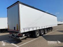 Félpótkocsi Schmitz Cargobull Curtainsider Standard Ladebordwand használt függönyponyvaroló