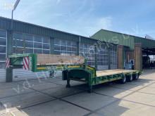 Semitrailer maskinbärare Gheysen & Verpoort & Verpoort | 3 as Dieplader | Bladgeveerd | Ramps