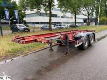 Fruehauf Chassis 20 FT, Steel Suspension semi-trailer used container