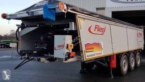 Semi remorque benne Fliegl ASS 372 FOND POUSSANT CALORIFUGE