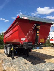 Semitrailer Fruehauf Non spécifié lastvagn bygg-anläggning begagnad