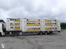 Yarı römork sığır taşıyıcı Pezzaioli