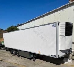 Semi remorque frigo mono température Lamberet Porte pal + 2m70 - vector diesel et elect