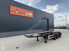 Semiremorca Burg 20FT ADR-Chassis, Leergewicht: 3.690kg, SAF INTRADISC, 2x Liftachse transport containere second-hand