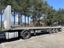 Semi remorque porte containers Schmitz Cargobull S3T - PLATFORM + TWISTLOCKS 20' + 40' - SAF - DISC - AIR SUSPENSION - BELGIAN PAPERS