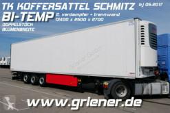 Semi remorque isotherme Schmitz Cargobull SKO SKO 24/ TK ONE /DOPPELSTOCK / BI TEMP / BLUMEN