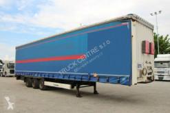 Krone tautliner semi-trailer SD, LOW DECK, AXLES BPW, LIFT AXLE, TIRES 60%
