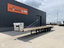 Semi remorque plateau Pacton BPW+drumbrakes, hardwooden floor, NL-trailer, APK: 27/10/2021