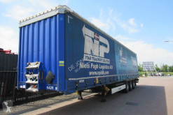 Krone tautliner semi-trailer Tautliner / BPW + Disc / Dhollandia Loadlift