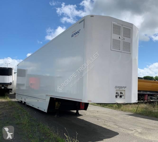 View images Trouillet PORTE VOITURES 4 PLACES -8 COUCHETTES- AVEC HAYON semi-trailer