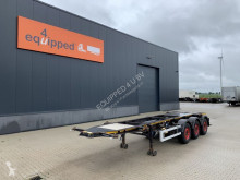 Semiremorca Burg 20FT ADR-Chassis, Leeggewicht: 3.690kg, SAF INTRADISC, 2x Liftas transport containere second-hand