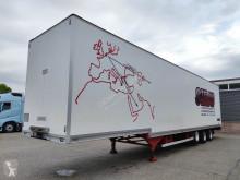 نصف مقطورة عربة مقفلة حاملة ملابس Talson D24 3-assen BPW - trommelremmen - Confectie wanden - kledingstangen (O638)