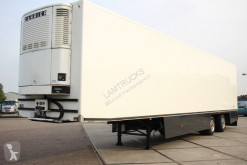 Floor mono temperature refrigerated semi-trailer 2 assige verkoop oplegger BLOEMEN / PLANTEN