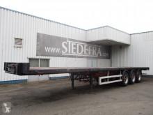 Burg flatbed semi-trailer , 3 BPW axle trailer , Drum brakes , Spring suspension