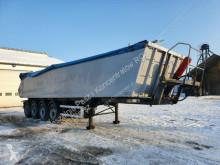 Semi remorque benne Kel-Berg Tipper 37m3 4-axles 2012 year / damaged