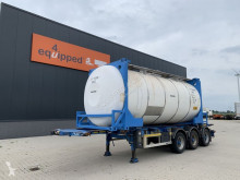 LAG chemical tanker semi-trailer 20FT/30FT, ADR-CHASSIS + 20FT SB Tankcontainer 31.000L / 1-comp.