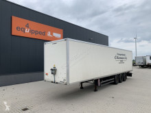Semi remorque fourgon Samro BPW+disc, liftaxle, full chassis, NL-trailer, APK: 01/2022