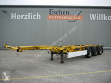 Semi remorque Krone SD High Cube Chassis*Luft/Lift*Heckausschub châssis occasion