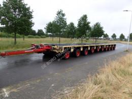 Goldhofer THP ST 4 + THP ST 6 axle module trailer used heavy equipment transport
