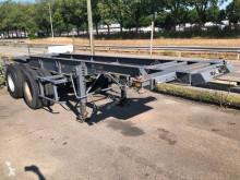 Semitrailer Trailor porte container 20 containertransport begagnad