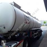 Semirimorchio Magyar ALIMENTAIRE AVEC POMPE cisterna trasporto alimenti usato