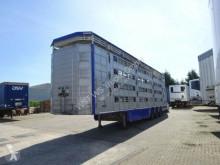 Semiremorca remorcă transport animale Pezzaioli SBA 63 4Stock Vollausstattung GPS Top Zustand