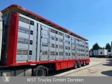 Félpótkocsi Menke Menke 4 Stock Lenk Lift Typ2 Lüfter Dusche Tränk használt állatszállító pótkocsi