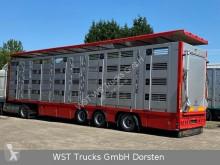 Semitrailer boskapstransportvagn Menke Menke 4 Stock Lenk Lift Typ2 Lüfter Dusche Tränk