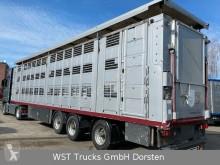 Semiremorca remorcă transport animale Menke Menke 3 Stock Lenk Lift Vollalu