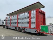 Semitrailer boskapstransportvagn Finkl Finkl 3 Stock Ausahrbares Dach Vollalu Typ 2