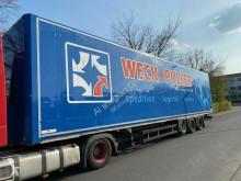 Semi remorque fourgon Schmitz Cargobull SKO SKO24 Jumbo / Mega Keine Türen!! Dach beschädigt