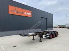 Náves na prepravu kontajnerov Burg 20FT ADR-chassis, empty weight: 3.690kg, SAF INTRADISC, 2x liftaxle