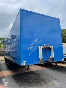 Semi remorque fourgon PRS 10 1 assige ciity trailer laadklep