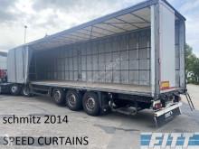 Semitrailer Schmitz Cargobull S01 skjutbara ridåer (flexibla skjutbara sidoväggar) begagnad