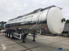 Feldbinder TSA 35 3 1 ADR chemie 35M3 semi-trailer used chemical tanker
