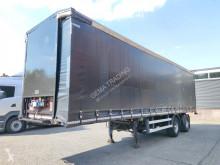 Pacton tautliner semi-trailer T2 001 - 2 Assige CITY 10.50M - Trommelremmen - Stuur-As - Kooi-Aap Aansluiting (O639)