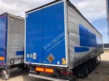 Félpótkocsi Lecitrailer STANDARD használt függönyponyvaroló