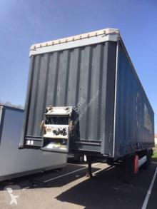 Krone semi-trailer used reel carrier tautliner