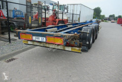 Полуприцеп Turbo's Hoet Container Chassis / 1x40ft / 2x20ft / BPW + Drum контейнеровоз б/у