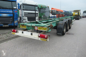 Turbo's Hoet Container Chassis / 40-45ft / BPW + Drum semi-trailer used container