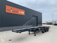 Semirremolque portacontenedores Krone 40FT/2x20FT, Discbrakes, empty weight: 4.700kg, BPW, 2x available