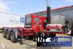 Félpótkocsi Piacenza semirimorchio portacontainer ribaltabile 3assi 20 piedi használt konténerszállító