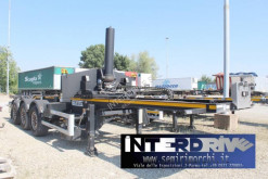 Semirremolque portacontenedores Chiavetta semirimorchio portacontainer ribaltabile 20,30 , tank