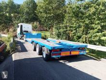 Trayl-ona heavy equipment transport semi-trailer