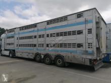 Félpótkocsi Pezzaioli SBA62FFUG33 használt sertésszállító