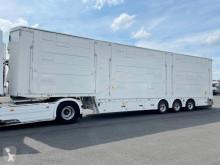Félpótkocsi Pezzaioli 3 étages - 3 compartiments - Palettisable új állatszállító pótkocsi
