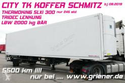 Semirremolque Schmitz Cargobull CITY TK KOFFER SCHMITZ 1-achs TK SLXi300 LZG / isotérmica usado